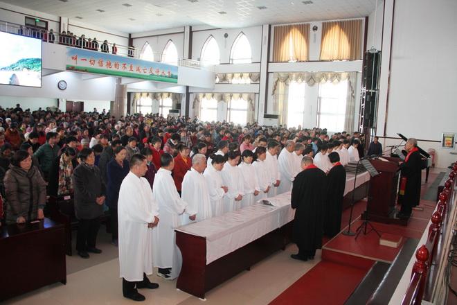 东营基督教圣恩堂2016受难节崇拜